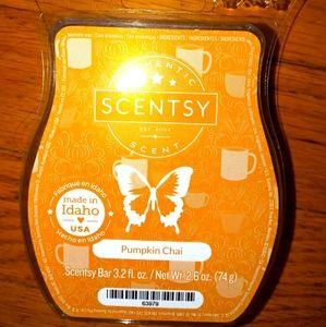 Scentsy Pumpkin Chai wax bar